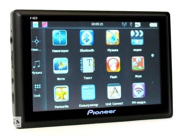 продам GPS-навигатор Pioneer (5 дюймов) бу в Виннице