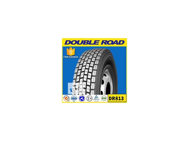 """продам Грузовые шины R 22.5 """"Double Road"""", """"Long March"""", """"Amberstone"""" бу в Полтаве"""