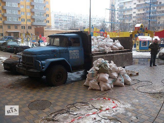бу Автовывоз демонтажного мусора,строительного мусора. в Киеве