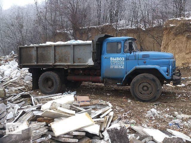 продам Строймусор вывезем,старую мебель,спиленные деревья бу в Киеве