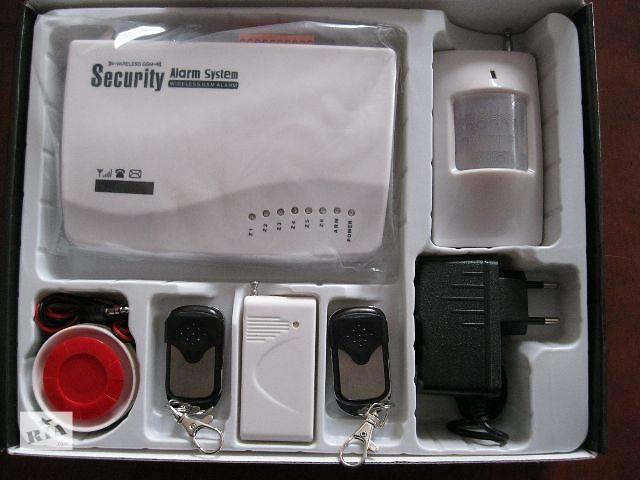 купить бу GSm сигнализация беспроводная BSE-950 комплект для дома дачи офиса  в Украине