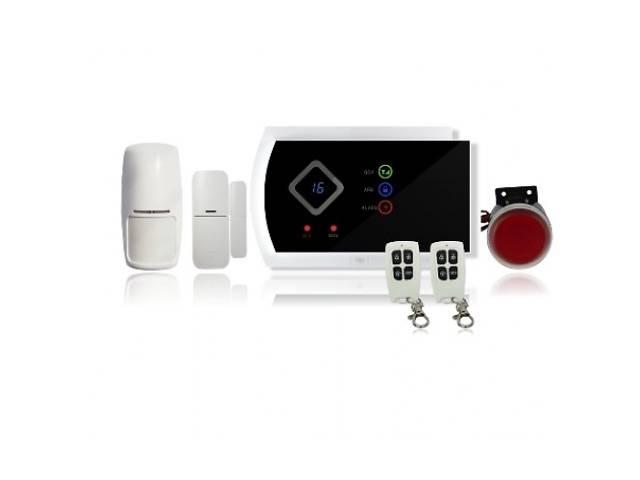 купить бу GSM сигнализация беспроводная BSE-960 (G10A) для дома,офиса,магазина BSE-950 комплект, в Запорожье