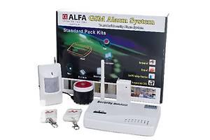 GSM сигнализация новый Alfa