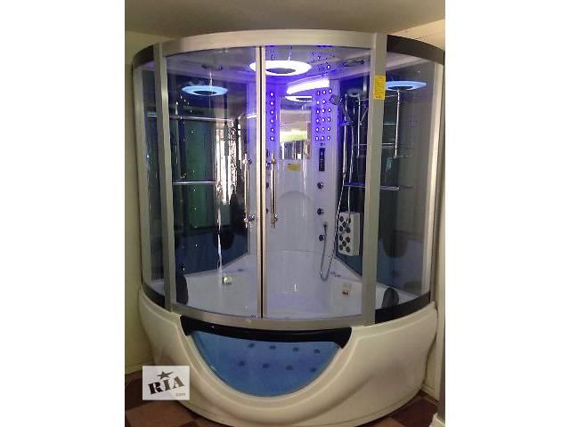 Гидромассажный бокс Golston GA-082 (с паром и г/м в ванне), 1500х1500х2160 мм- объявление о продаже  в Одессе