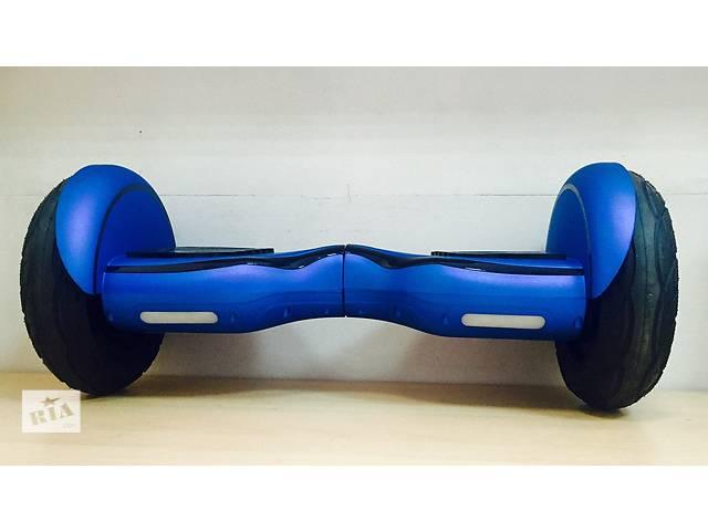 """Гироскутер Smart Balance SUV 10"""" Premium Синий. С приложением. Гироскутер Smart Balance SUV 10"""" Premium Синий. С приложе- объявление о продаже  в Киеве"""