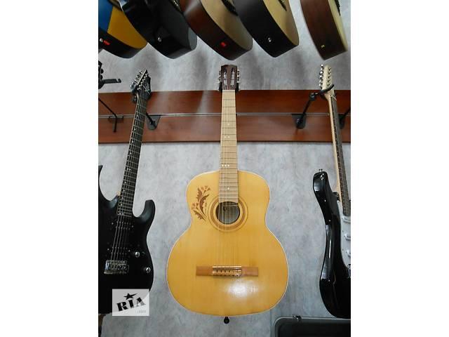 купить бу ( 1185 ) Гитара и ее Видео Обзор черниговской музыкальной фабрики в прекрасном состоянии в Чернигове