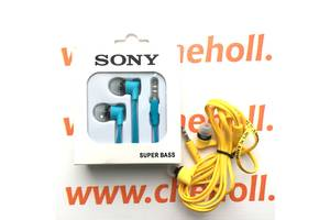 Новые Проводные гарнитуры Sony