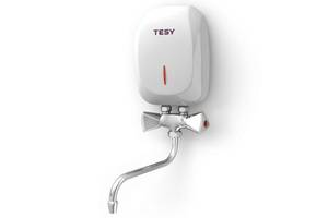Новые Проточные электрические водонагреватели Tesy