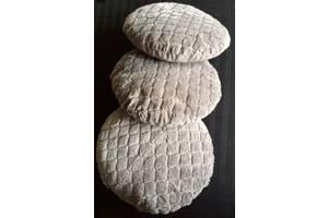 б/у Круглые декоративные подушки
