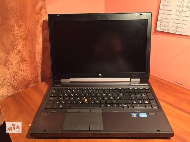 купить бу HP EliteBook 8570w Mobile Workstation (возможен обмен на macbook) в Львове