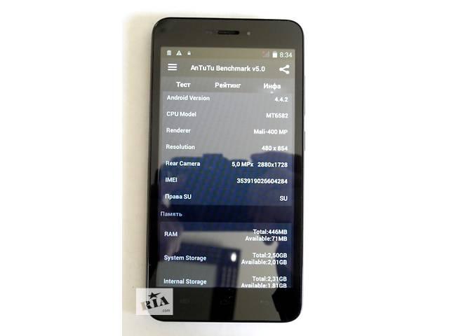 продам HTC S5300 4 Ядра 5,5'' 2SIM 512 Мб/4Гб 5Mп Android 4.4.2 бу в Киеве