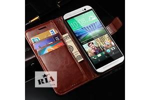 HTC One m8 Slim тонкий с чехлом книжечкой