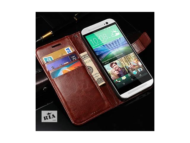 купить бу HTC One m8 Android 2 Ядра Тайвань не китайский! тонкий с чехлом книжечкой в Одессе
