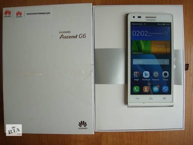 купить бу Huawei Ascend G6-U10(white) в Киеве