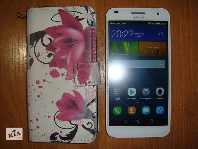 купить бу Huawei G7-L01 silver в Киеве