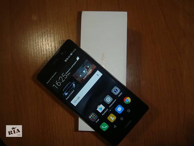 продам Huawei P8 lite ALE-L21 (black) бу в Киеве
