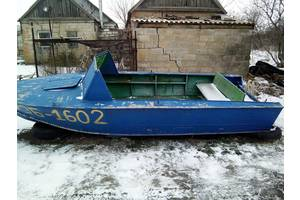 б/у Лодки металлические