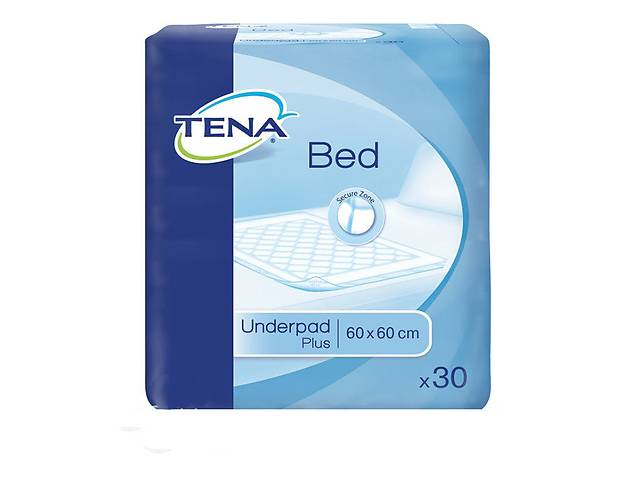 Одноразовые пеленки-простыни Tena Bed PLUS 60*60, 30 шт.