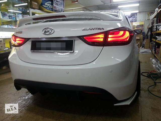 Задние фонари тюнинг оптика Hyundai Elantra MD Хюндай Елантра МД- объявление о продаже  в Луцке