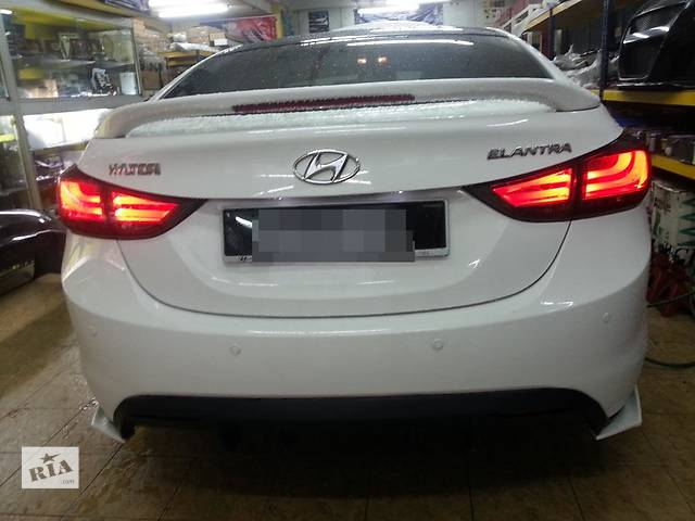 купить бу Hyundai Elantra MD задние фонари тюнинг оптика в Луцке