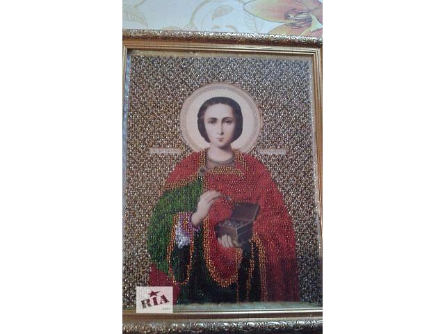 Икона Святого Пантелеймона- объявление о продаже  в Покровском