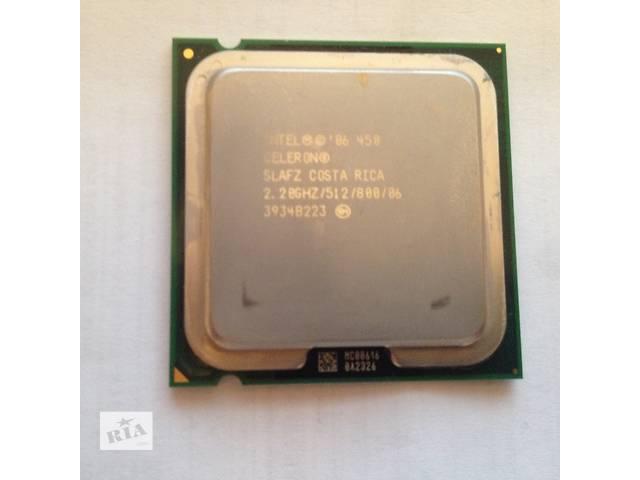купить бу Intel® Celeron® Processor 450 (512K Cache, 2.20 GHz, 800 MHz FSB) в Киеве