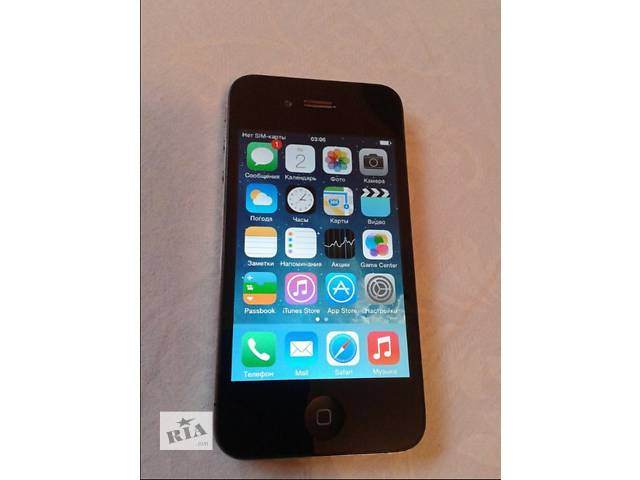 купить бу Iphone 4 16gb Neverlock  в Киеве