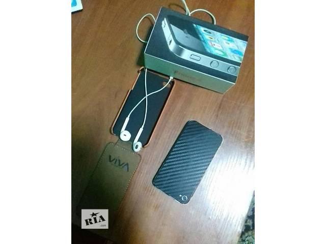 купить бу iPhone 4-16gb в Киеве