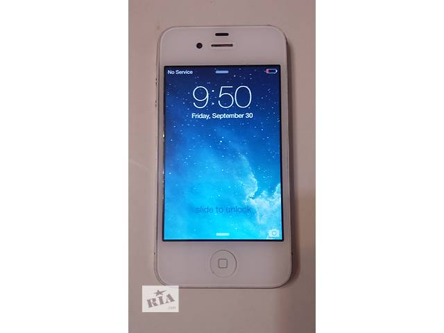 купить бу iPhone 4 8GB CDMA оригинал из америки в Киеве