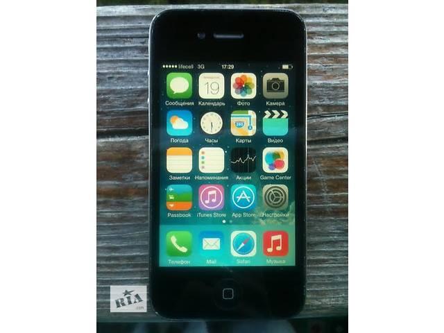 """IPhone 4g 32gb """"хорошее состояние""""- объявление о продаже  в Киеве"""