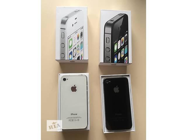 купить бу IPhone 4s 16gb Black/White Newerlock. Новыйе, Оригинал !!! в Одессе
