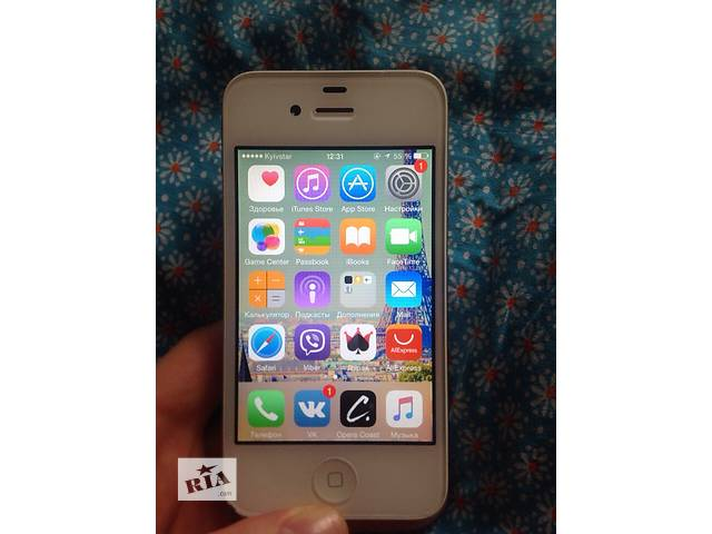 купить бу IPhone 4s 16Gb Neverlock в Черкассах