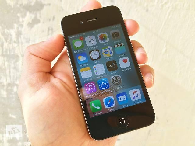 бу iPhone 4S 8GB Black Neverlock хорошее состояние! в Каменском (Днепропетровской обл.) (Днепродзержинск)