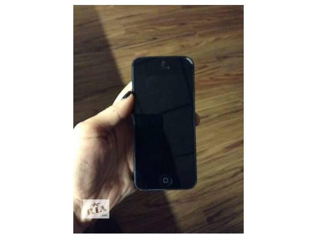 купить бу Iphone 5 16 Gb Black в Киеве