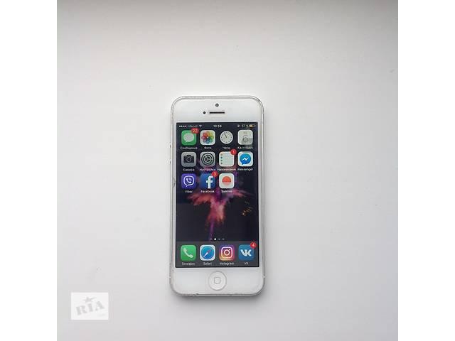 купить бу Iphone 5 16 GB Neverlock  в Киеве