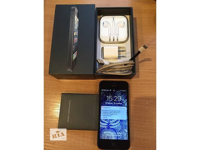 iPhone 5 16 gb - объявление о продаже  в Запорожье