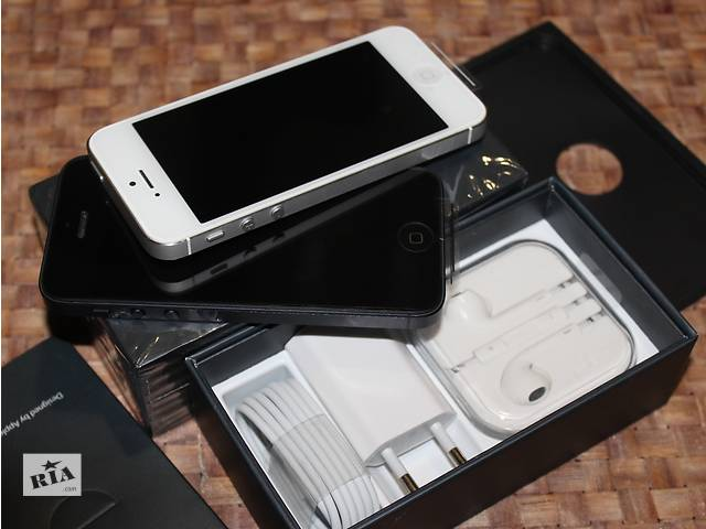 бу IPhone 5 16Gb [NEW в заводской плёнке]оригинал 100% NEVERLOCK 10шт (без аванса (+подар. стекло защитное в Хмельницком