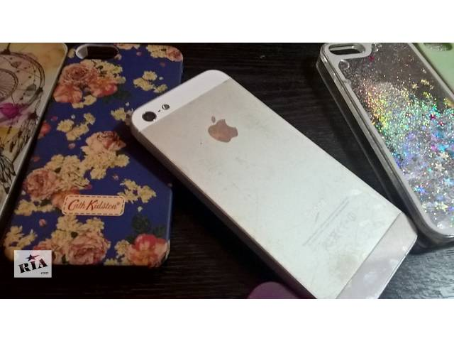 бу iPhone 5 Silver 16 Gb в Киеве