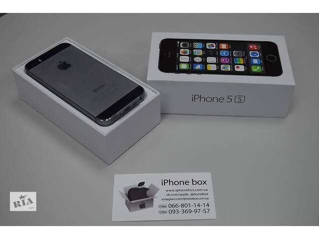 бу iPhone 5S 16GB Neverlock в ПОДАРОК защитное стекло, Гарантия, Магазин в Харькове