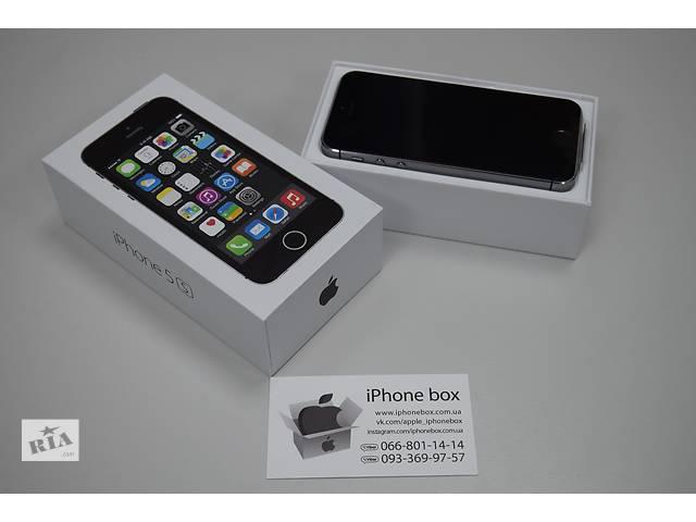 купить бу iPhone 5S 16GB Neverlock в ПОДАРОК защитное стекло, Гарантия, Магазин в Днепре (Днепропетровск)