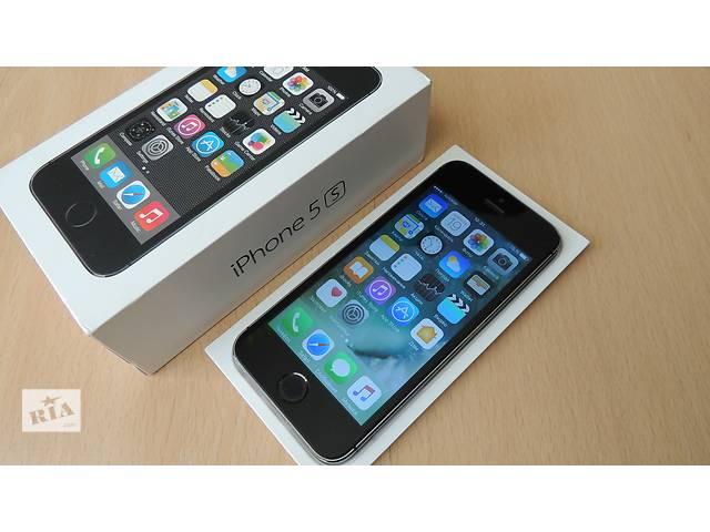 купить бу IPhone 5S 16 GB отличное состояние в Львове