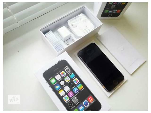 Iphone 5S (16GB-32GB) Space Gray Neverlock Original Новый- объявление о продаже  в Кременчуге