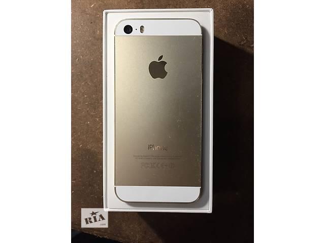 IPhone 5s 16GB Gold + 9 месяцев гарантии- объявление о продаже  в Виннице