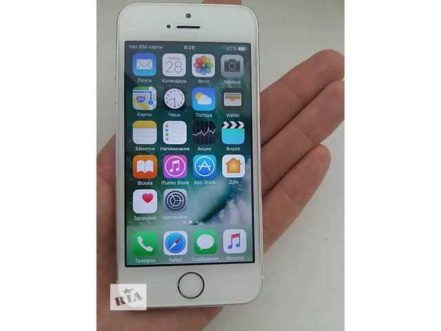 Iphone 5s 16Gb Silver. Чек, гарантия- объявление о продаже  в Киеве