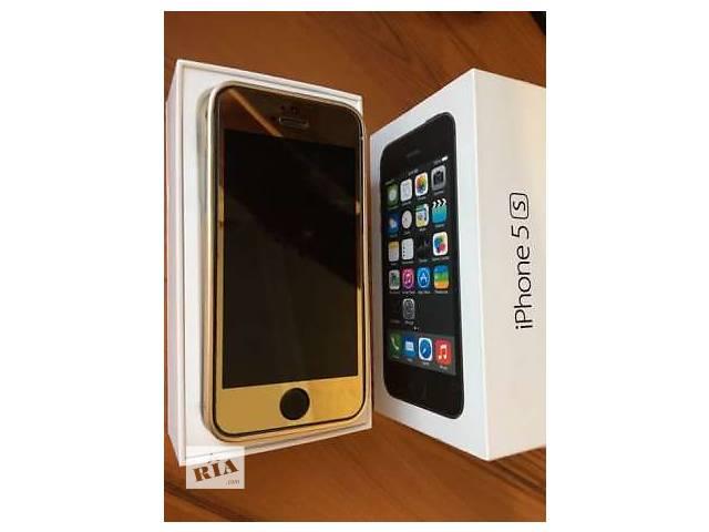 купить бу iPhone 5s 16Gb Space Gray Neverlock в золоте в Луганске