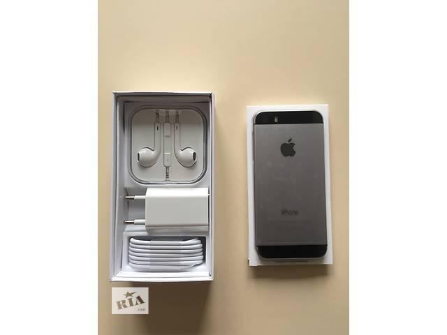 купить бу IPhone 5s 16gb space gray Newerlock, Новый, Оригинал !!! в Одессе