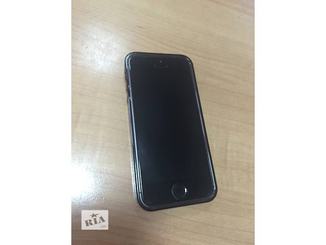 бу iPhone 5s 16gb/ Space  Grey в Днепре (Днепропетровске)