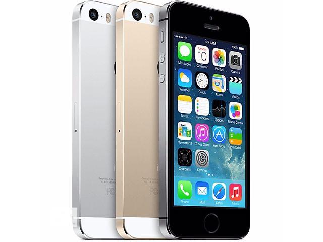 купить бу iPhone 5S 4 GB копия 2SIM 3G Android 4.2 экран 4 дюйма IPS 4 ядра 1 ГБ ОЗУ 4 ГБ 8 мп GPS в Одессе