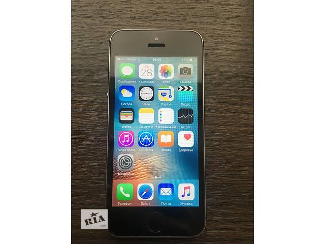продам IPhone 5s 32 gb space gray хорошее состояние Apple айфон неверлок бу в Виннице