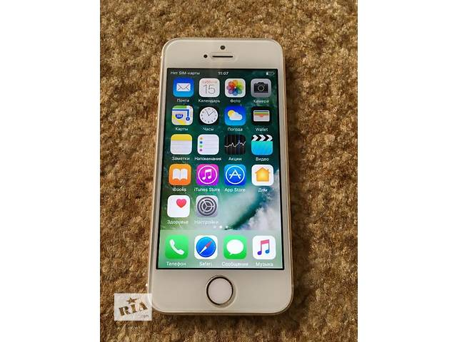 купить бу IPhone 5s Gold 16gb Neverlock в Киеве